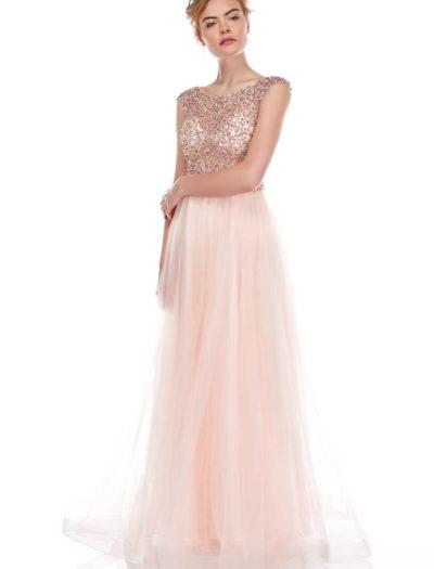 Balklänning Linelli 5692-014 pink
