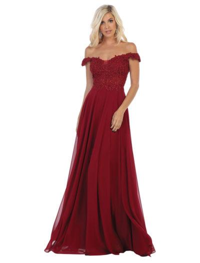 Balklänning-Linelli-5692-038-burgundy